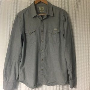 Lucky Brand denim colored button down
